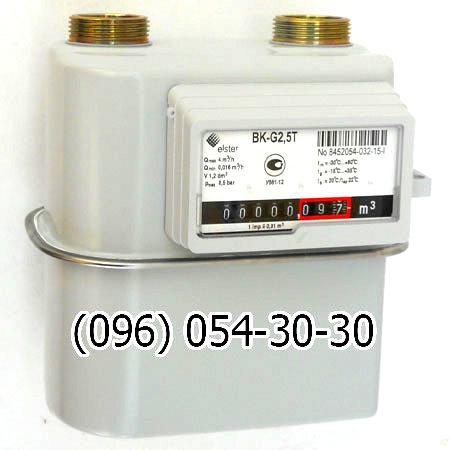 Счетчик газа BK (ВК) G2.5