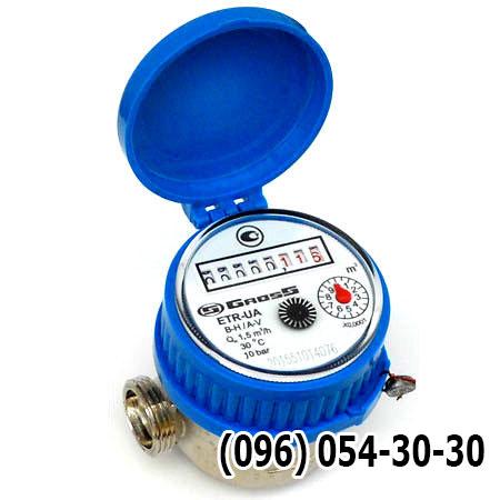 Купить короткий счетчик воды ETR-UA 15Х Gross
