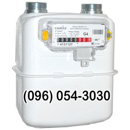 Схема газового счётчика самгаз